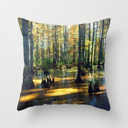 Cache River Wetlands Throw Pillow