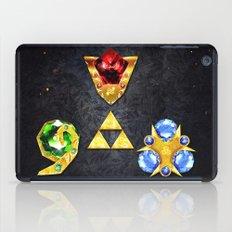 The Timeless Legend of Zelda Inspired Spiritual Stones iPad Case