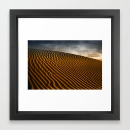 Patterns in the Sand Framed Art Print