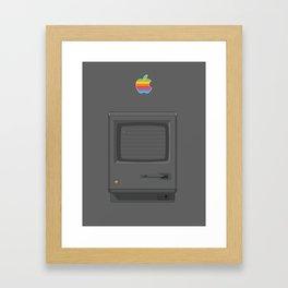 Macintoch Black Framed Art Print