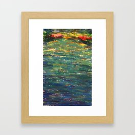 EP Lake Framed Art Print