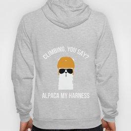 Climbing You Say Alpaca My Harness  Hoody