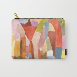 """Paul Klee """"Movement of Vaulted Chambers 1915"""" Carry-All Pouch"""