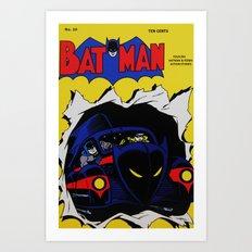 Comic 20 Art Print