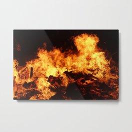 Easingwold Bonfire (16) Metal Print