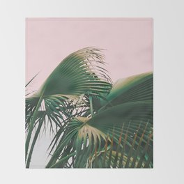 Palm Love Throw Blanket