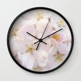 Ornamental Cherry Blossom Wall Clock