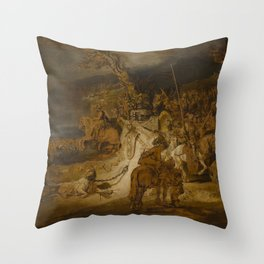 The Concord of the State Throw Pillow