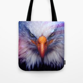 American Flag & Eagle Tote Bag