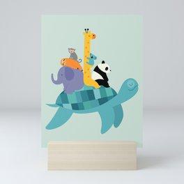 Travel Together Mini Art Print