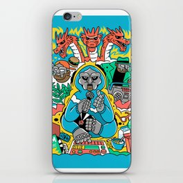 MF DOOM & Friends iPhone Skin