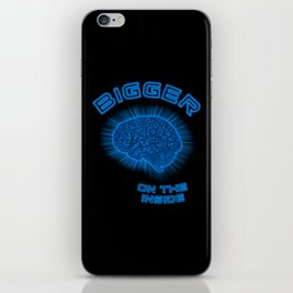 Thoughts And Radical Dreams Inside Skull iPhone Skin
