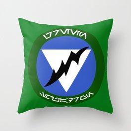 Green Squadron (Alliance) Throw Pillow