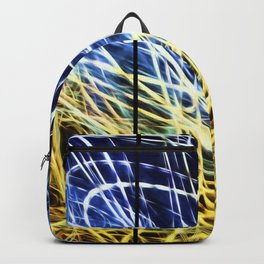 Light Painting Abstract Triptych #1 Backpack