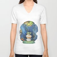 over the garden wall V-neck T-shirts featuring Over the Garden Wall by zaMp