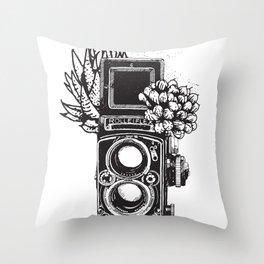 Way I Roll Throw Pillow