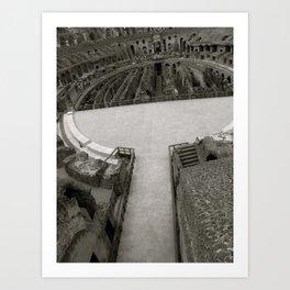The Arena  Art Print