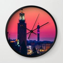 Stockholm, Dawn Wall Clock