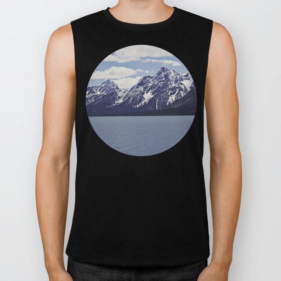 Grand Tetons: Colter Bay Biker Tank