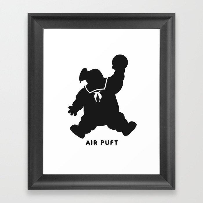 Air Puft: Stay Puft Marshmallow Man Gerahmter Kunstdruck