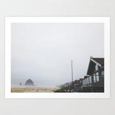 Cannon Beach, Oregon Art Print