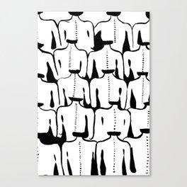 girl's back Canvas Print