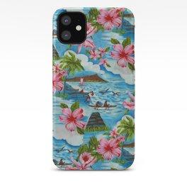Hawaiian Scenes iPhone Case