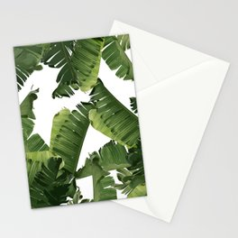 Banana Green Stationery Cards