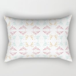 Fragmented Delights Rectangular Pillow