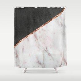 Marble fashion texture Shower Curtain