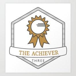 Enneagram Type 3 The Achiever Art Print