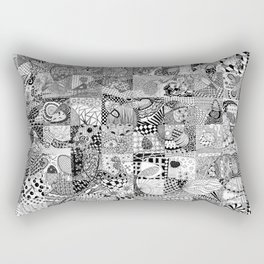 Doodling Together #2 Rectangular Pillow