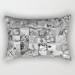 Doodling Together #2 Rectangular Pillow
