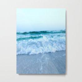 Ocean Pull Metal Print