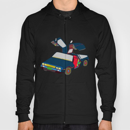 Cool Boys Like Flying Cars Hoody