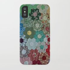 patchwork-design iPhone X Slim Case