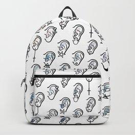 Ears and earrings Backpack
