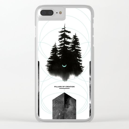 PILLARS OF CREATION Clear iPhone Case