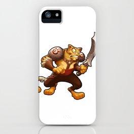 Battle Cat iPhone Case