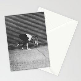Yoga Pose - Half Crow Stationery Cards