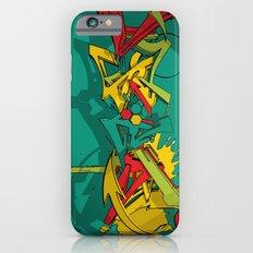 3d graffiti - Dystopian ink Slim Case iPhone 6s