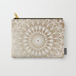 Gold Mandala 19 Carry-All Pouch
