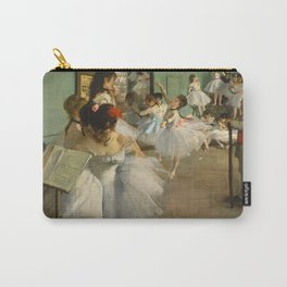 "Edgar Degas ""The dance class"" Carry-All Pouch"
