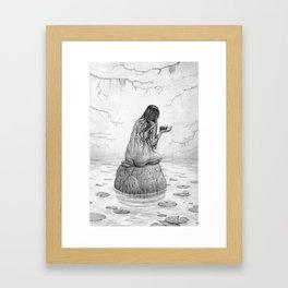Nymph Framed Art Print