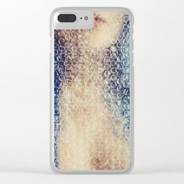 blue doll Clear iPhone Case