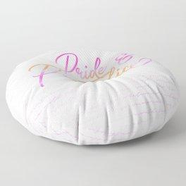 Pride & Prejudice Quotes Floor Pillow