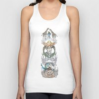 wild things Tank Tops featuring Wild Things by Carley Lee