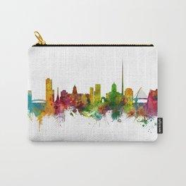 Dublin Ireland Skyline Carry-All Pouch