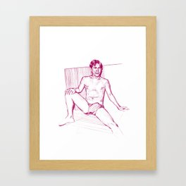 WARM 5 (cens.) Framed Art Print
