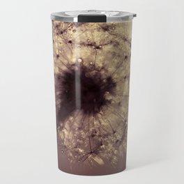 dandelion gold Travel Mug
